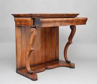 19th Century Continental Walnut Console Table (10 of 10)