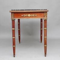 19th Century Mahogany & Ormolu Mounted Center Table (6 of 11)