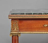 19th Century Mahogany & Ormolu Mounted Center Table (11 of 11)