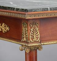 19th Century Mahogany & Ormolu Mounted Center Table (5 of 11)