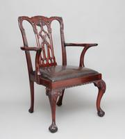 19th Century Chippendale Style Armchair