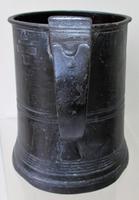 Antique English Georgian Pewter Pint Mug ~ Villers & Wilkes ~ Birmingham ~ Cotterell O.P. 4876 (2 of 5)