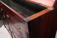 Large 18th Century Mahogany Mule Chest (10 of 10)