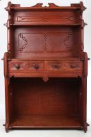 19th Century Gothic Elm Dresser