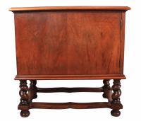 Walnut Leather Top Desk in the Style of William & Mary (13 of 13)