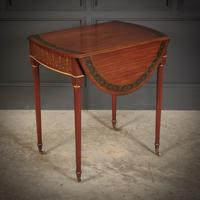 Satinwood Pembroke Table c.1900