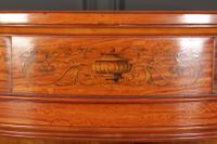 Fine Marquetry Inlaid Satinwood Cabinet by Jas Shoolbred (3 of 14)
