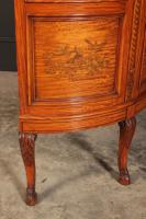 Fine Marquetry Inlaid Satinwood Cabinet by Jas Shoolbred (11 of 14)