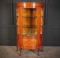 Fine Marquetry Inlaid Satinwood Cabinet by Jas Shoolbred (2 of 14)