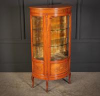 Fine Marquetry Inlaid Satinwood Cabinet by Jas Shoolbred (7 of 14)