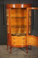 Fine Marquetry Inlaid Satinwood Cabinet by Jas Shoolbred (8 of 14)