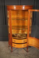 Fine Marquetry Inlaid Satinwood Cabinet by Jas Shoolbred (9 of 14)