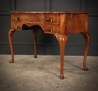 Queen Anne Style Shaped Walnut Dressing Table c.1920 (6 of 11)