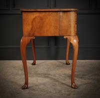 Queen Anne Style Shaped Walnut Dressing Table c.1920 (10 of 11)