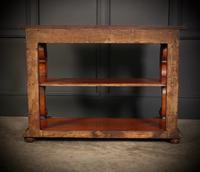 Victorian Oak 3 Tier Console Table (14 of 15)