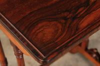 Superb Regency Rosewood Nest of 3 Tables (14 of 19)