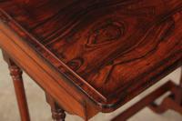 Superb Regency Rosewood Nest of 3 Tables (15 of 19)
