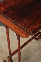 Superb Regency Rosewood Nest of 3 Tables (16 of 19)