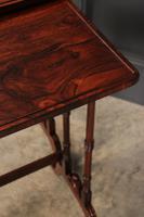 Superb Regency Rosewood Nest of 3 Tables (17 of 19)