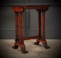 Superb Regency Rosewood Nest of 3 Tables (2 of 19)