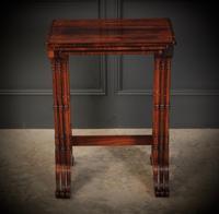 Superb Regency Rosewood Nest of 3 Tables (3 of 19)