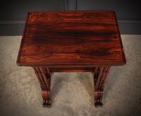 Superb Regency Rosewood Nest of 3 Tables (6 of 19)