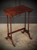 Superb Regency Rosewood Nest of 3 Tables (12 of 19)