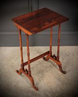 Superb Regency Rosewood Nest of 3 Tables (13 of 19)