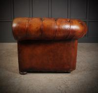Vintage Buttoned Leather Chesterfield Sofa (7 of 11)