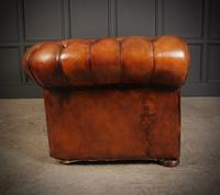 Vintage Buttoned Leather Chesterfield Sofa (9 of 11)