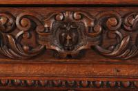 Carved Oak Glazed Cabinet c.1880 (10 of 11)