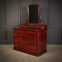 Victorian Mahogany Dressing Chest (7 of 11)