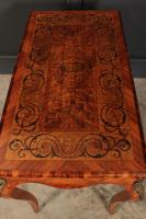 Walnut Marquetry Inlaid Side Table c.1880 (13 of 16)