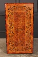Walnut Marquetry Inlaid Side Table c.1880 (14 of 16)