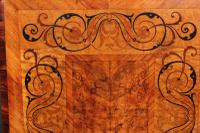Walnut Marquetry Inlaid Side Table c.1880 (15 of 16)