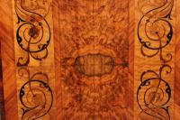 Walnut Marquetry Inlaid Side Table c.1880 (16 of 16)