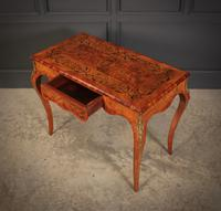 Walnut Marquetry Inlaid Side Table c.1880 (8 of 16)