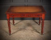 Late Victorian Mahogany Writing Table (4 of 11)