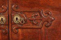 Art Nouveau Oak Bureau (8 of 16)