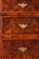 Large Queen Anne Burr Walnut Chest on Chest (8 of 15)