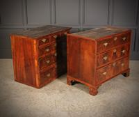 Large Queen Anne Burr Walnut Chest on Chest (15 of 15)