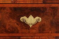 Large Queen Anne Burr Walnut Chest on Chest (6 of 15)