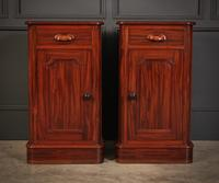 Pair of Victorian Mahogany Bedside Cabinets (3 of 10)