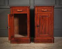 Pair of Victorian Mahogany Bedside Cabinets (4 of 10)