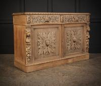 Bleached Oak Side Cabinet c.1880 (3 of 20)