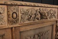 Bleached Oak Side Cabinet c.1880 (2 of 20)