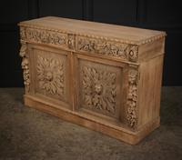Bleached Oak Side Cabinet c.1880 (13 of 20)