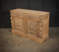 Bleached Oak Side Cabinet c.1880 (15 of 20)