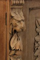 Bleached Oak Side Cabinet c.1880 (11 of 20)