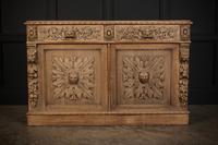 Bleached Oak Side Cabinet c.1880 (4 of 20)